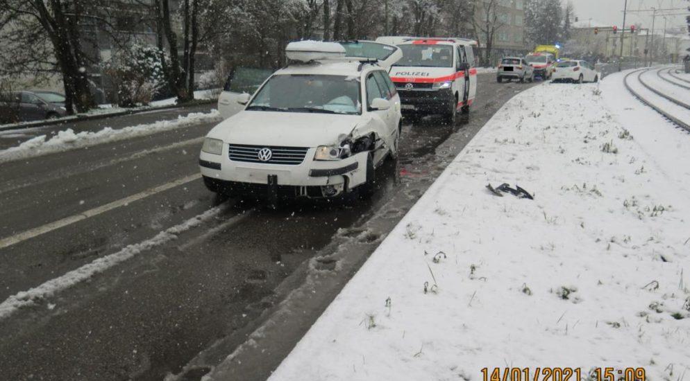 Frontalkollision in Münchenstein BL