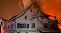 Brandfall in Ziefen BL