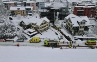 16 Personen bei Hausbrand in Bubikon ZH evakuiert