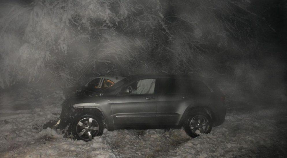 In Gegenverkehr gerutscht - Unfall mit zwei Autos in Dornach SO