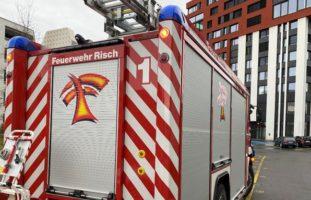 Feuerwehreinsatz durch Wärmeschublade in Rotkreuz ZG