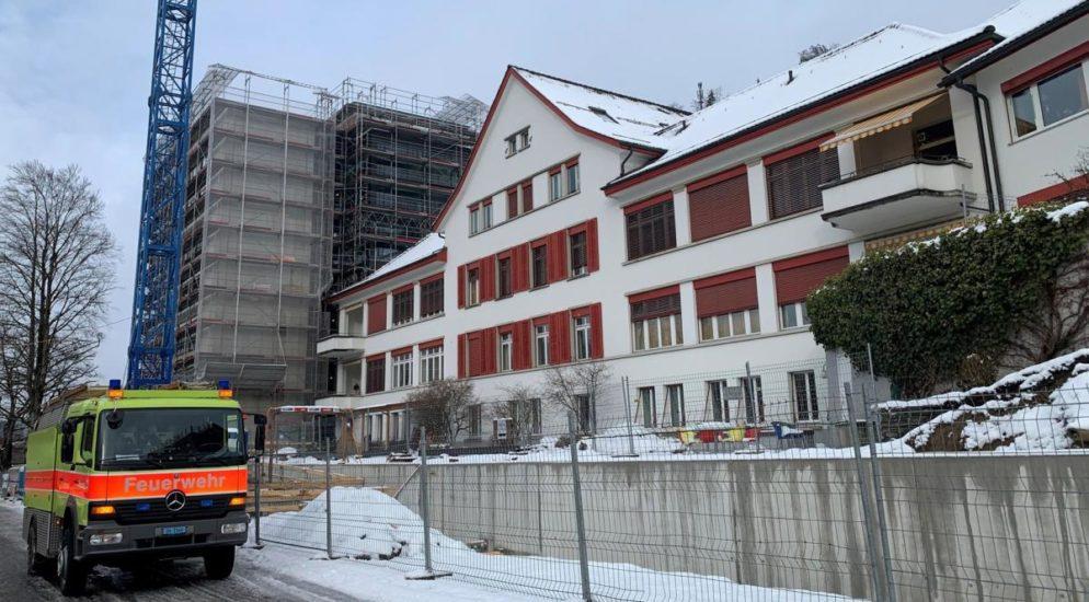 Rauchentwicklung in Pflegezentrum in Bauma ZH - Bewohner evakuiert