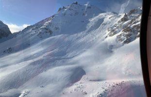 Freerider lösen in St. Moritz Lawine aus