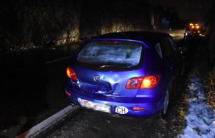 Unfall Lichtensteig SG - eine verletzte Person und 30'000 Fr. Sachschaden