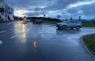 Drei Verkehrsunfall im Kanton Zug