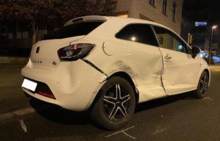 Stadt Zug - Taxifahrer baut Verkehrsunfall