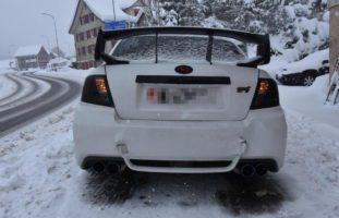 Autofahrerin nach Auffahrunfall in Ricken verletzt