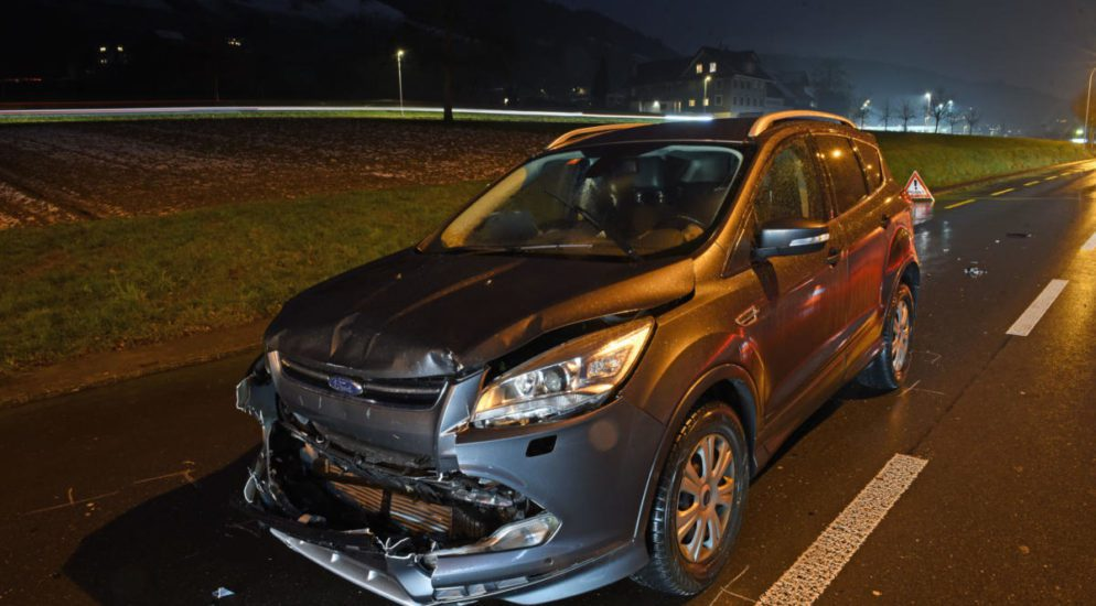 Fünf Verletze bei Unfall in Root LU
