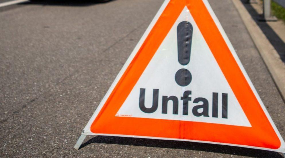 Verkehrsunfall in Goldach fordert Verletzten