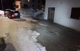 Unfall Poschiavo: Lenker erfasst seine Frau: tot!