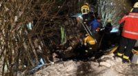 Thayngen: Aufwändige Bergung nach Unfall mit Milchtransporter