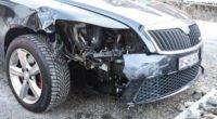 Buchs SG - Ohne Führerausweis Verkehrsunfall verursacht