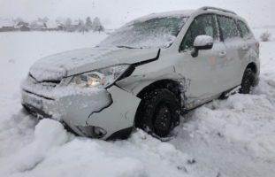 St.Gallen: 37 Unfälle, vier Verletzte, zahlreiche Verkehrsbehinderungen