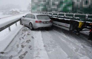 Oberbüren: Crash zwischen Auto und Sattelschlepper