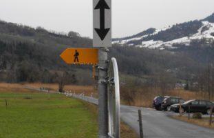 Mehrere Verkehrsschilder in Lauerz entwendet
