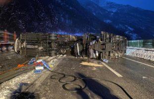 Seedorf: Autobahn A2 nach Unfall gesperrt