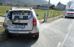 Verkehrsunfall in Näfels GL