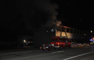 Bettlach SO: Garagenneubau in Brand geraten