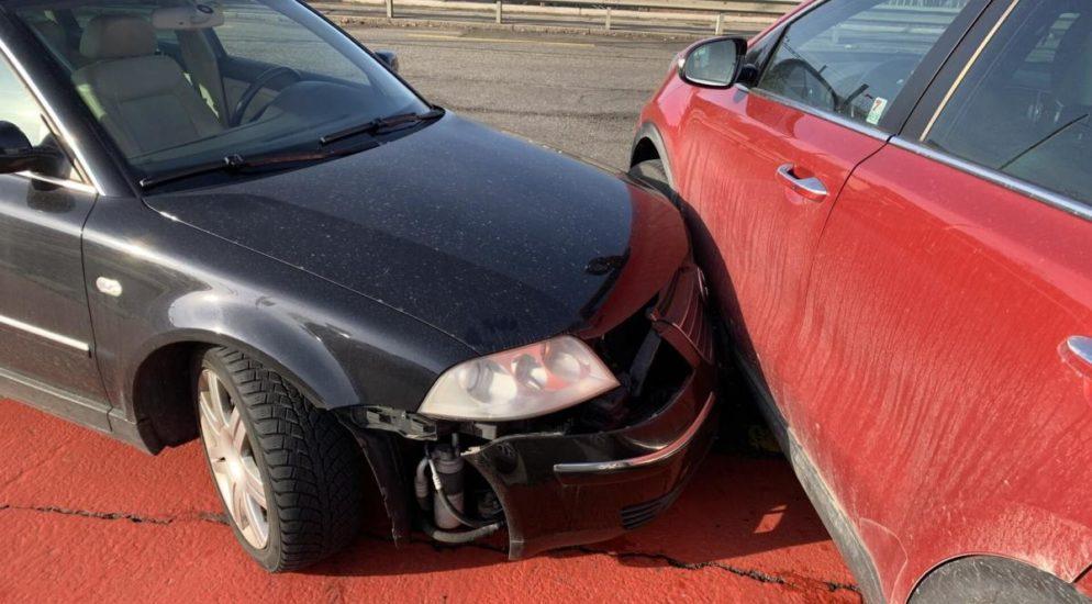 Stadt Schaffhausen - Blechschaden nach Crash