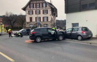 Marly: Unfall mit 3 verletzten Personen