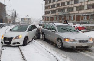 Unfall in Bühler AR