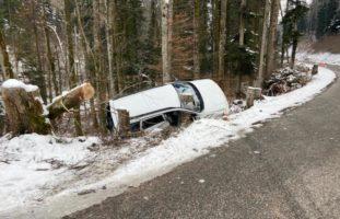 Heftiger Unfall in Lampenberg BL