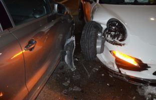 Verkehrsunfall in Lutzenberg