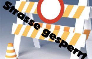 Sisikon SZ - Wegen drohendem Felssturz Strasse gesperrt