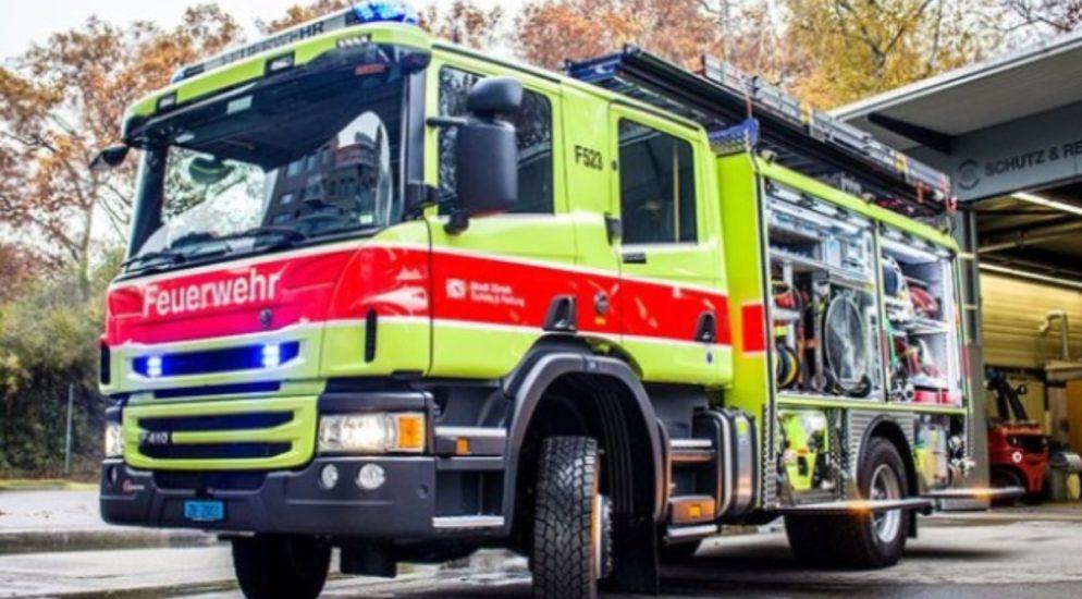 Stadt Schaffhausen: Brand in einer Loggia