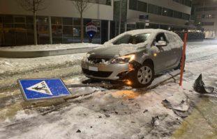 Mehrere Verkehrsunfälle im Kanton Zug