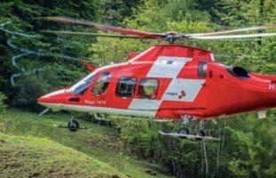 Liestal BL: Heftiger Brandunfall fordert zwei Verletzte (16)