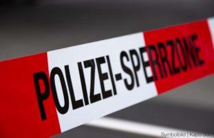 Leblose Person in Basler Hinterhof gefunden