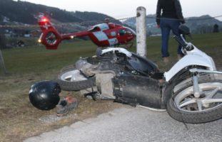 16-Jähriger bei Unfall verletzt