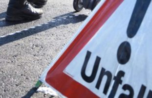 Verkehrsunfall in der Stadt Schaffhausen