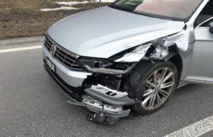 Matt GL: Mofafahrer nach Unfall mit REGA ins Spital geflogen