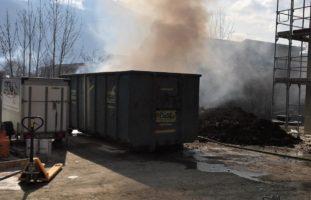 Brandfall auf Baustelle in Näfels GL
