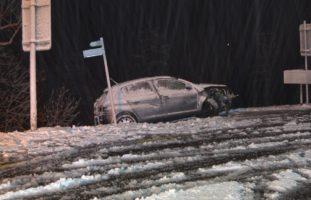 Verkehrsunfälle durch schneebedeckte Straßen im Kanton Appenzell Ausserrhoden