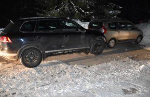 Unfall in Valbella GR: Betrunken falsch heimgefahren und mit Auto kollidiert