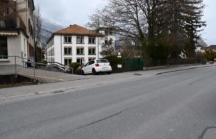 Verletzte Motorradfahrerin nach Kollision in Chur
