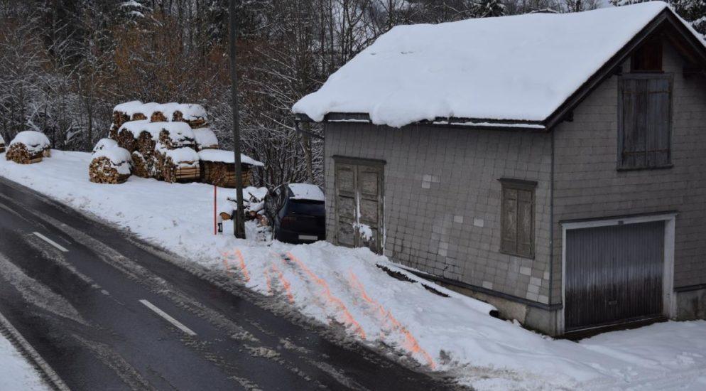 Zwei Verkehrsunfälle in Urnäsch