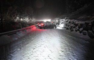Chur GR: Totalschaden nach Crash mit Mauer