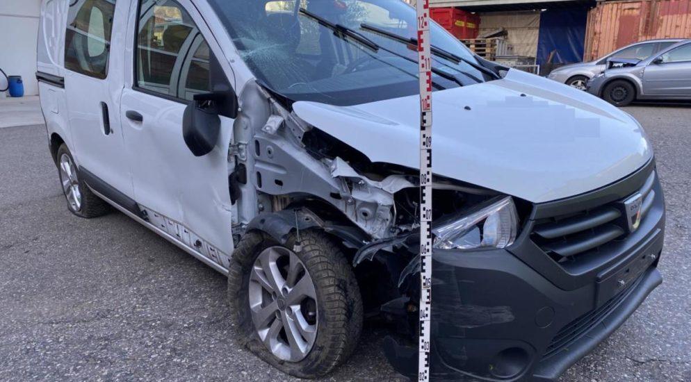 Liestal BL: Betrunken Unfall gebaut