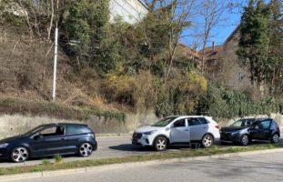 Stadt Schaffhausen: Auffahrunfall zwischen drei Fahrzeugen