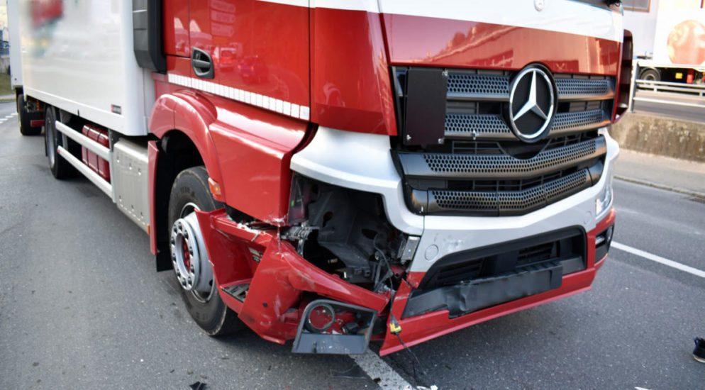 Willisau LU: Audi-Fahrer ohne gültigen Führerausweis verunfallt
