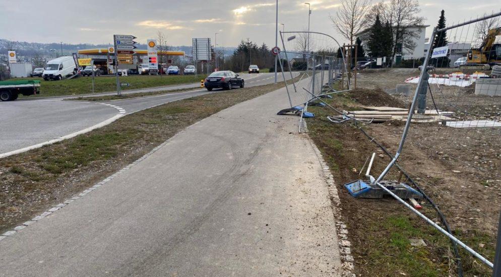 Bremgarten: Verkehrsunfall gebaut und aus dem Staub gemacht