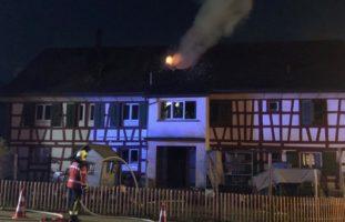 Oberaach: Dachstockbrand in Einfamilienhaus