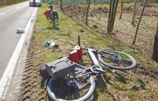 Ermatingen: E-Bike-Fahrerin bei Unfall verletzt