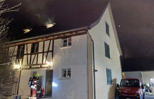 Matzingen TG - Tasche auf Kochfeld löst Brand aus