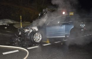 Malix GR - Auto in Brand geraten