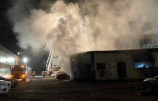 Brand in Oberbüren SG